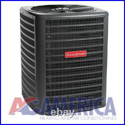 3 Ton 14 SEER Goodman Heat Pump Split System GSZ140361 ARUF37C14 TX Kit 30