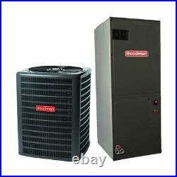 3 Ton 14 Seer Goodman Air Conditioning System GSX140361 ARUF37C14