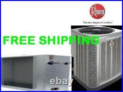 3 Ton 14SEER Central A/C System Condensing Unit & Slab Evaporator Coil