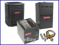3 Ton 16 SEER 80% AFUE 80K BTU Goodman AC/Heat System Upflow
