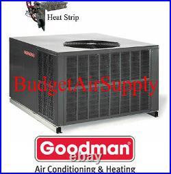 3 Ton 16 seer Goodman HEAT PUMP MULTI POSITION Package Unit GPH1636M41+Heat+