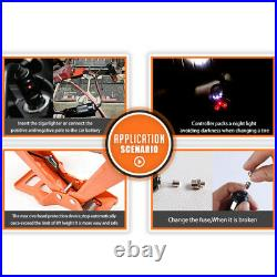 3 Ton Car Electric Jack Floor Jack Lift Scissor Jacks Portable 12V DC Repair Kit