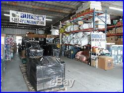 3 Ton Goodman 14 seer 80% 80K btu TWO STAGE HORIZONTAL Gas Furnace System+tst