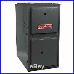 3 Ton Goodman AC/Heat System Install Kit Upflow, 14 SEER 96% AFUE 80K BTU