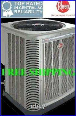 3 Ton R-410A 14 SEER Rheem Complete Mobile Home Heat Pump System with Heat Kit