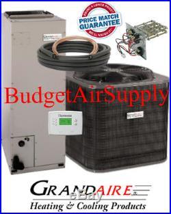 3 ton 14 SEER HEAT PUMP ICP/GRANDAIRE Flush INSTALL Kit+25ft LineSet+++