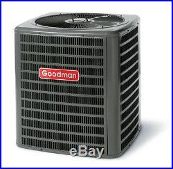 3 ton 14 SEER Heat Pump Goodman central AC unit gsz140361 condenser r410a