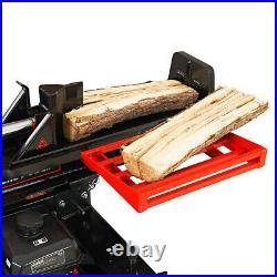 30-Ton Horizontal/Vertical Hydraulic Log Splitter 196cc SH265 with Auto Return