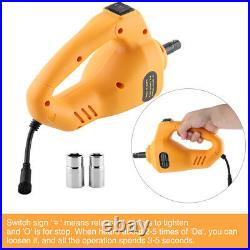 3Ton Automotive Electric Scissor Car Lift DC 12V Wrench 1/2 Impact Wrench