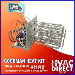 4 Ton 14 SEER Goodman Heat Pump A/C System Replacement Flush Install Kit