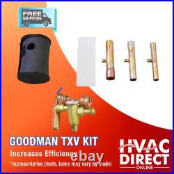 4 Ton 14 SEER Goodman Heat Pump System Complete Install Kit/Free Accessories
