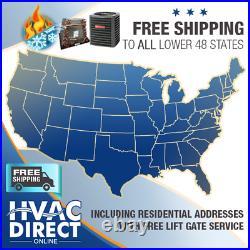 4 Ton 14 SEER Goodman Mobile Home AC Heat Pump + Coil System, Line Flush Kit