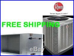 4 Ton 14SEER Central A/C System Condensing Unit & Slab Evaporator Coil