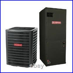 4 Ton 16 Seer Goodman Air Conditioning System GSX160481 ASPT49D14
