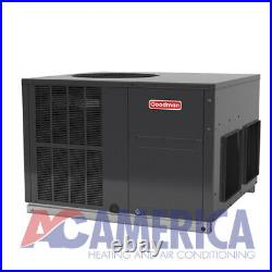4 Ton Goodman 16 SEER Gas Electric Packaged Unit GPG1648100M41