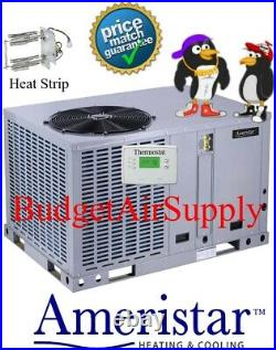 4 ton 14 seer AMERISTAR by Ingersoll Rand Heat Pump Package unit M4PH4048A1000A