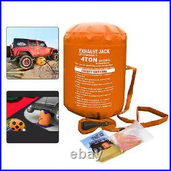 4Ton Exhaust Inflatable Air Jack Bag For Large/medium Sized Car SUV Rescue Tools