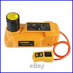 5 Ton 12V DC Hydraulic Electric Jacks Floor Lift Tire Change Car Repair Tool Kit