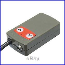 5 Ton 12V Electric Scissor Jack Stand Lift Car Lifter Automotive Remote Hoist