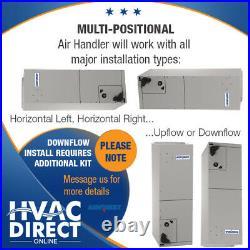 5 Ton 14 SEER AirQuest-Heil by Carrier Heat Pump System + Heat Kit & T-Stat