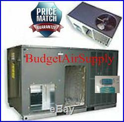 5 Ton 14 seer Goodman HEAT PUMP Package Unit GPH1460H41+Pad+Adapters+Heat+tstat+