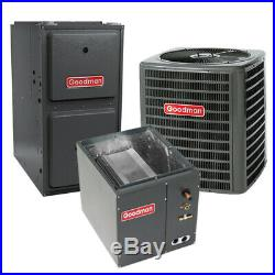 5 Ton 16 SEER 96% AFUE 120K BTU Goodman AC/Heat System Upflow
