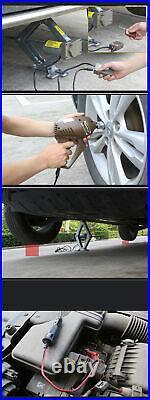 5 Ton Automotive Electric Scissor Car Jack Lift Auto Repair 12V DC Floor Lift