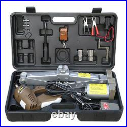5 Ton Electric Jack Power Hydraulic Floor Lifting Tool 12V Power Supply Wrench