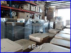 5 Ton Goodman 14 seer 80% 100K BTU 2 stage UPFLOW Gas Furnace+Tstat