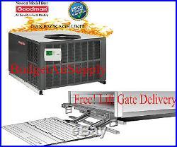5 Ton Goodman 14 seer Gas/Elec Package Unit 81% 120K Btu GPG1460120M41 Gaspack