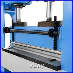 51 Inch x 1/2 Inch Electric 150 Ton Hydraulic Press Brake Bender 2 Cylinder