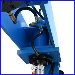 51 Inch x 1/4 Inch Electric 50 Ton Hydraulic Press Brake Bender 2 Cylinder