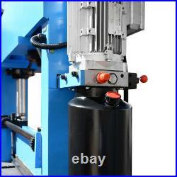 51 Inch x 3/16 Inch Electric 30 Ton Hydraulic Press Brake Bender 2 Cylinder