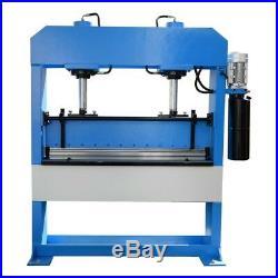 51 x 1/4 Electric 50 Ton Hydraulic Press Brake Bender 2-Cylinder 3-Phase 220V