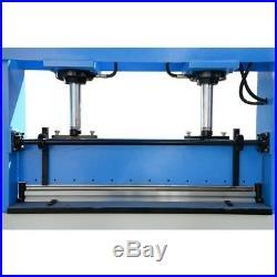 51x3/16 Electric 30 Ton Hydraulic Press Brake Bender 2-Cylinder 3-Phase 220V
