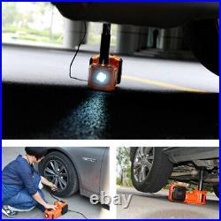 5T 5 Ton 12V Electric Car Jack Hydraulic Floor Jack Lift Tire Repair Tool