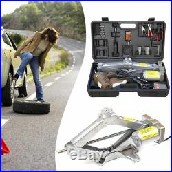 5Ton12V Automatic Electric Jack Scissor Lift Garage Vehicle Tire Repair Hot Sale