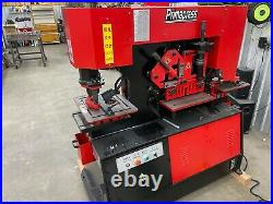 65 Ton Ironworker Dual station with 5/8 Plate Capacity