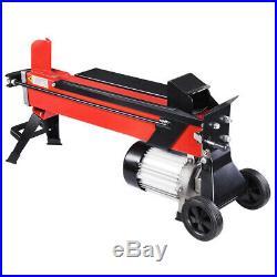 7 Ton Electrical Hydraulic Log Splitter Firewood Wood Portable Cutter Powerful