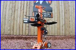 8 Ton Venom C-Series Electric Log Splitter by Rock Machinery