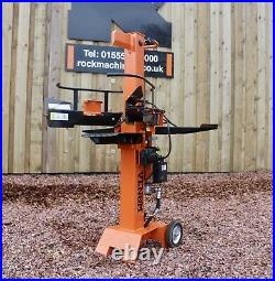 8ton Venom C-Series Electric Log Splitter by Rock Machinery