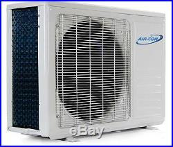 9000 BTU 16 SEER Ductless Mini Split Air Conditioner Heat Pump AirCon 3/4 Ton AC