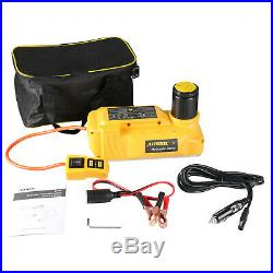 AUTOOL 6Ton Hydraulic Electric Floor Jack 12V Car Lifting Jack Emergency Tool