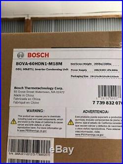 Bosch 4-5 Ton Heat Pump Inverter Condenser, BOVA60HDN1M18M Brand NEW IN BOX