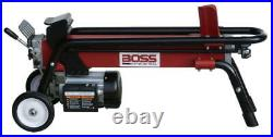 Boss Industrial-ES7T20 Log Splitter Electric 7 Ton Horizontal with Rear Light