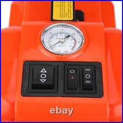 Car 12V DC 5 Ton Electric Hydraulic Floor Lift Jack Impact Wrench Garage