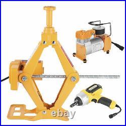 Car Jacks Lift 12V 3 Ton Electric Impact Wrench Air Pump Set Floor Tire Tool Kit