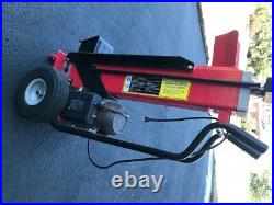 Central Machinery 7 ton Horizontal/Vertical Electric Log Splitter 120V, 60Hz