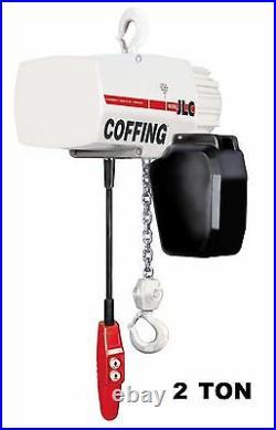 Cmco Coffing Jlc Electric Chain Hoist 2 Ton Capacity