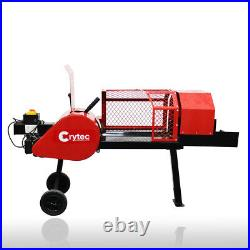 Crytec ZOOM 8 ton Super Fast Kinetic Electric Log Splitter Wood Chipper Cutter